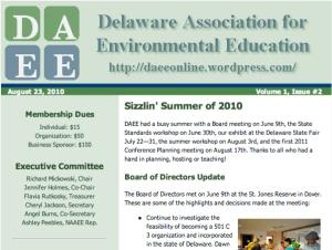 DAEE Newsletter