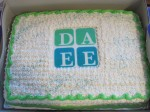 Mmm...DAEE cake. It's environmentally delicious.