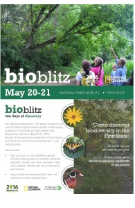 First State Park_2016 BioBlitz Poster